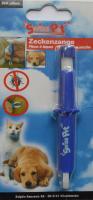 Zeckenzange für Hunde und Tiere